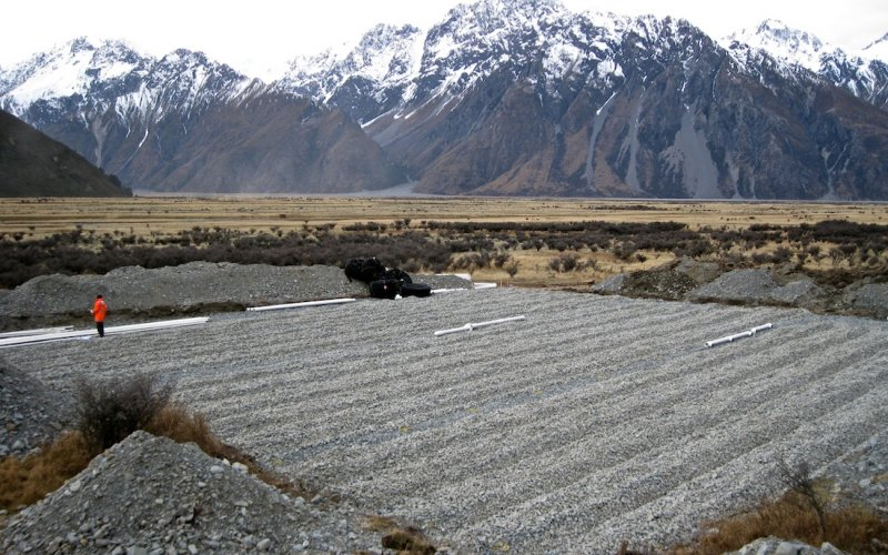 Mount Cook Sewage Treatment Pond Stage 2