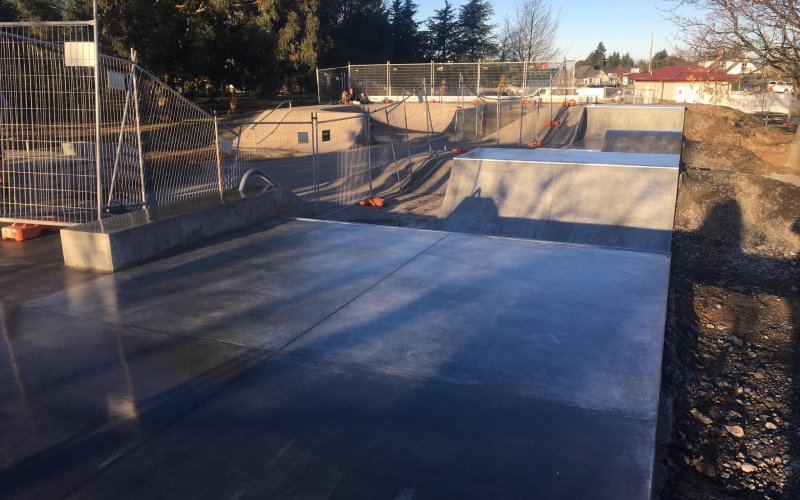 Darfield Skatepark Completed Work