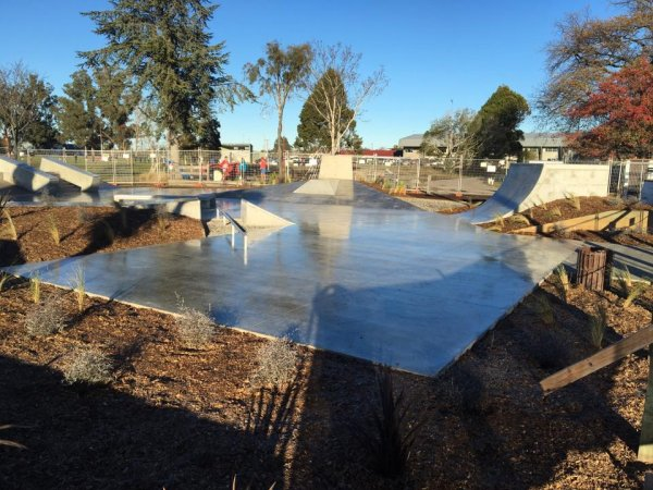 Leeston Skatepark Completed